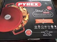 Pyrex Cooker brand new unopened