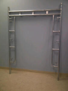 """Used 5' x 6'6"""" Galvanized Frame for $29.99(6020 50 Street)"""