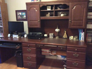 Office Desk Hutch and Computer table