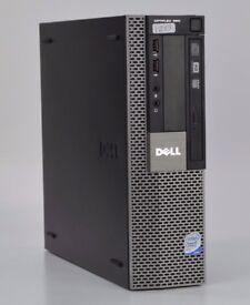 WINDOWS 7 DELL OPTIPLEX 960 QUAD CORE PC USSF COMPUTER - 4GB RAM - 500GB HDD