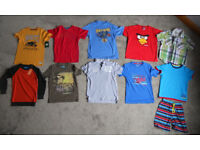 Boys T-shirts, Shirt, Jumper and Pyjamas Age 7-8 years some BNWT