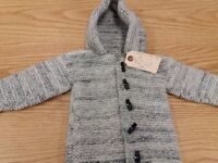 2 hooded jackets 3-6 months