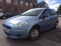 Fiat Punto 1.2 5 door petrol - 11 months mot- warrnted low miles - clean car