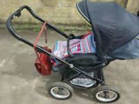 Babystyle pram vision travel system. 3 in 1. £55 ASAP