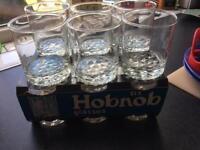 30 Hobnob Glasses/tumblers for sale