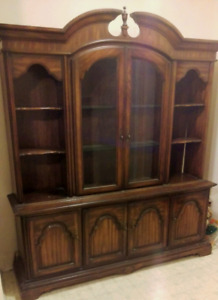 Solid Wood China Cabinet Need Gone ASAP