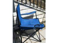Deck camping chair foldable