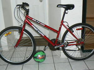 Excellent Large Mountain Bike- Upto 5 Feet 10 Inch - Red Color