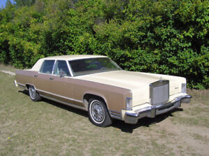 1978 Lincoln one owner      EDMONTON
