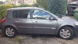 Renault Megane dynamique 1.6 petrol 5 Door