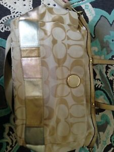 Authentic great condition coach diaper bag