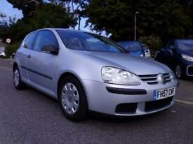 VOLKSWAGON GOLF 1.4 S 3 DOOR HATCHBACK LOW MILEAGE !