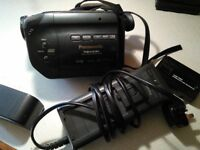 Panasonic Palmcorder VHS-C movie camera