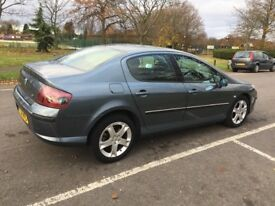 2006 Peugeot 407 2.0 HDi SE 4dr Automatic Low Mileage HPI Clear 6 Months Warranty @07445775115@