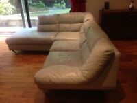 Large Leather Corner Sofa for sale