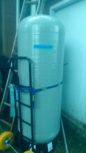 House water treatment mixinng tank