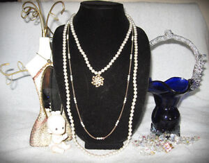 Pearl Bridal Necklace Strand Collar Statement Style
