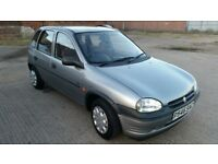 1.4 Vauxhall Corsa, Petrol, 5 Door, Manual, Only 62100 Miles, 1997