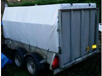 Woodford 2500kg braked twin axle trailer