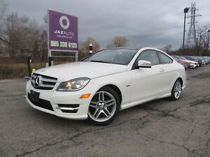 2012 Mercedes-Benz C250  LOADED NAVI/PARK ASSIST/BLIND SPOT/PANO