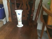 Aynsley Ainsley Cottage Garden Bud Vase Height 6.25in/16cm Diameter 3in/7.5cm
