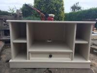 Tv unit stand real hard-wood shabby chic