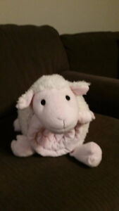Sheep baby blanket and pillow