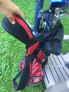 Right Handed Golf Clubs, Bag, Clubs, Balls, Tees, ready to go