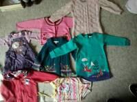 Girls clothes bundle age 1-3