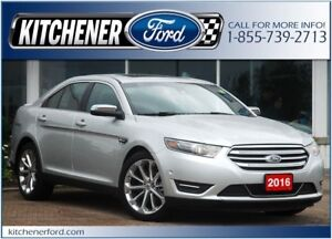 2016 Ford Taurus Limited LEATHER/HTD&CLD SEATS/NAVI/ROOF AND...