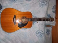 Blueridge BR-160 - All solid wood Acoustic Guitar (Dreadnought, Martin D28 inspired)