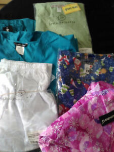 New & gently used Scrubs & shoes
