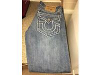 True Religion Jeans 32W 34L (Mens)