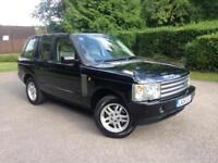 2004 Land Rover Range Rover Vogue 3.0 Td6 Black
