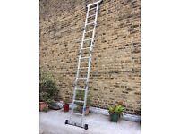 Almost New Aluminium Ladder For Sale