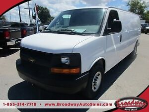 2016 Chevrolet Express HARD WORKING CARGO MOVER 2 PASSENGER 4.8L