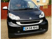 SMART FORTWO PASSION: £30 ANNUAL TAX + BRAND NEW MOT