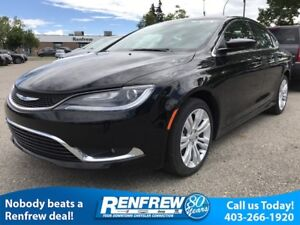2016 Chrysler 200 Limited Sale Reg. $30,785