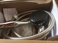 Shower head hose new those 2items have newer been used!