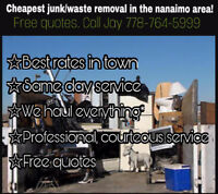 Cheapest junk/waste removal in town free quotes