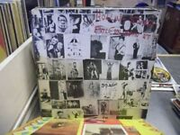Rolling Stones - EXILE ON MAIN ST - UK 2-LP First Press - EX - Scarce