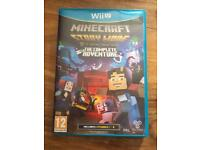 Minecraft story mode WiiU