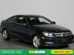 2012 Mercedes Benz C250 CUIR TOIT MAGS BLUETOOTH