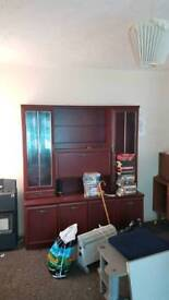 FREE. House clearance. Display unit. Wardrobe. Chests. Leather armchair