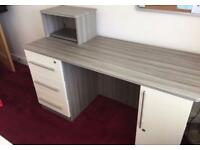 CUSTOM MADE OFFICE OR STUDY DESK WITH LOCKS