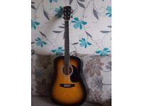 Unused fender squire acoustic guitar
