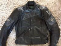 "Leather jacket (Rev-it) VGC size 44"" chest"