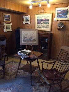 Vente de tableaux, antiquités et meubles antiques
