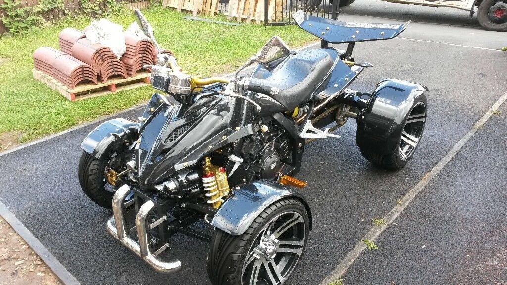 spy racing 350 cc quad bike in sinfin derbyshire gumtree. Black Bedroom Furniture Sets. Home Design Ideas