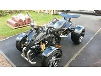 spy racing 350 cc quad bike